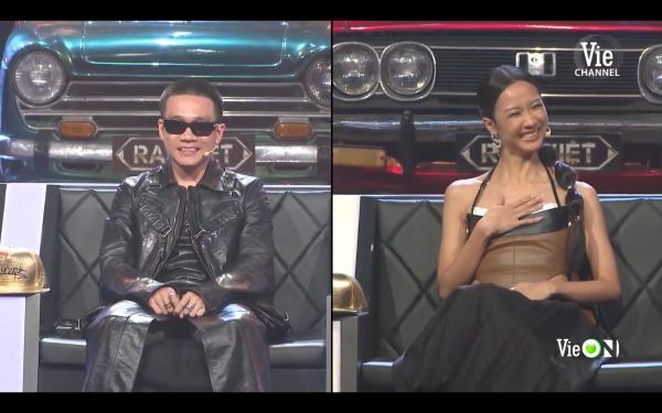 Rap Việt tập 12: Wowy bị nghi ngờ mượn váy của Suboi mặc 5