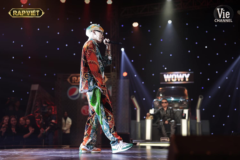 RTee trải lòng về màn dừng chânsau tập 12 Rap Việt