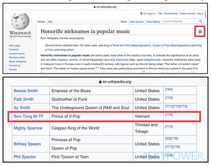 Sky lại được phen nở mày nở mặt: Sơn Tùng là nghệ sĩ Vpop duy nhất được Wiki quốc tế vinh danh 1