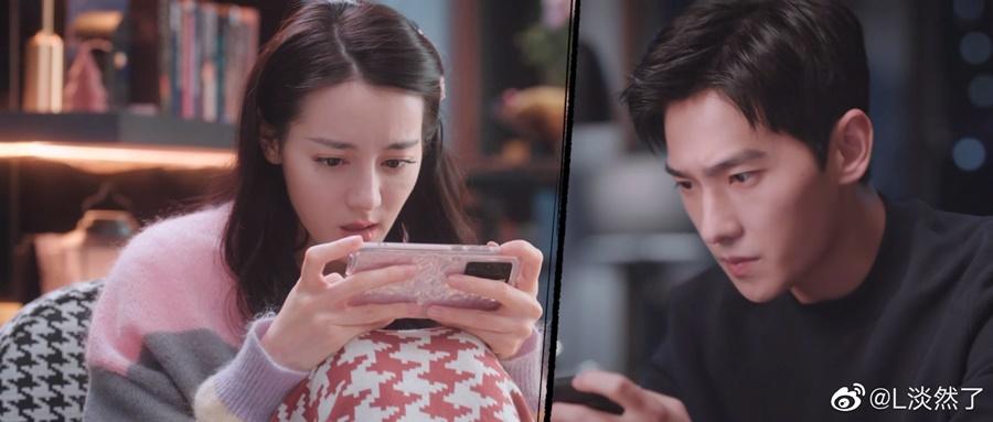 Sự khác biệt giữa Nhiệt Ba và Dương Dương khi dùng điện thoại trong 'Em là niềm kiêu hãnh của anh' 2