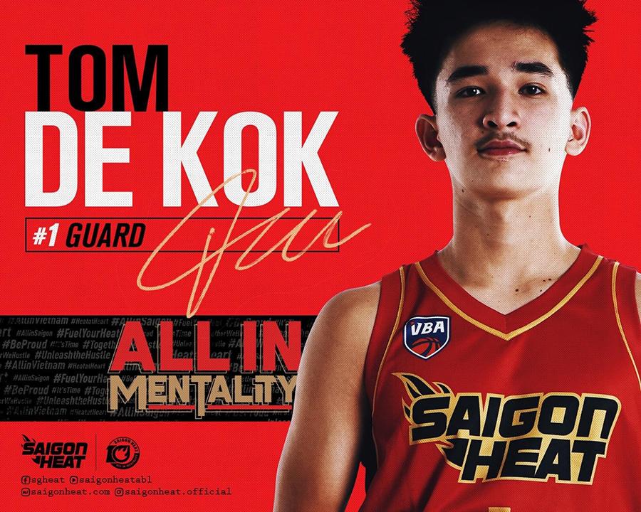 Tom De Kok - Saigon Heat