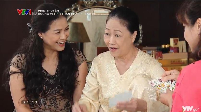 'Hương vị tình thân' tập 40 (p2): Huy cạn lời khi bà Sa hành xử quá độc ác và tham lam 5