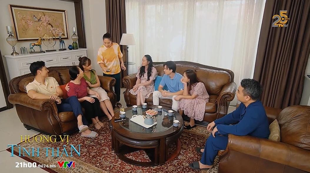 'Hương vị tình thân' trailer tập 41 (p2): Cả nhà Long biết Nam thân thiết với ông Sinh - một người trong giới giang hồ, liệu vị trí dâu trưởng có bị lung lay? 0