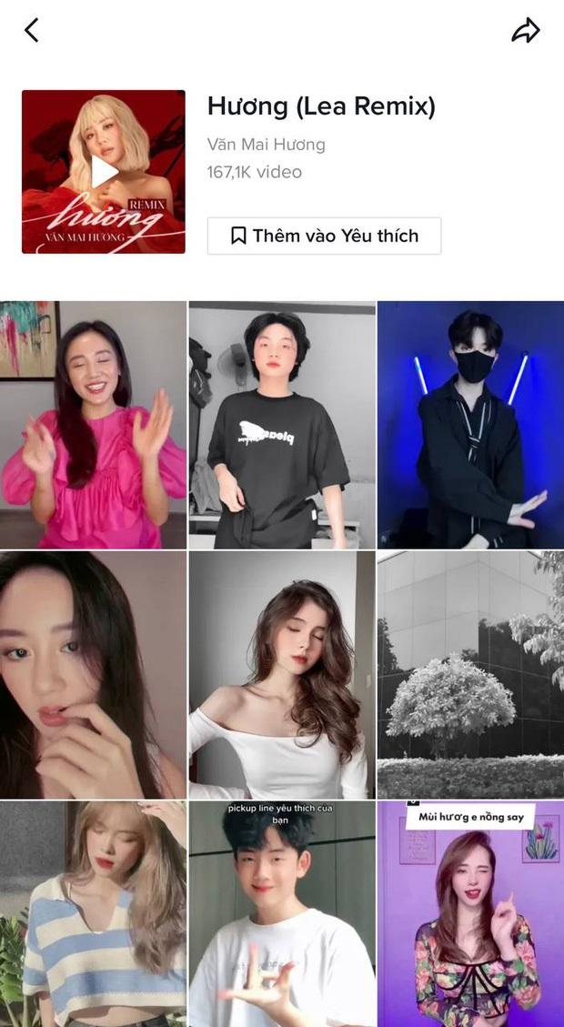 Bài hát của Văn Mai Hương tạo thành xu hướng mới với hơn 100 ngàn video tham gia
