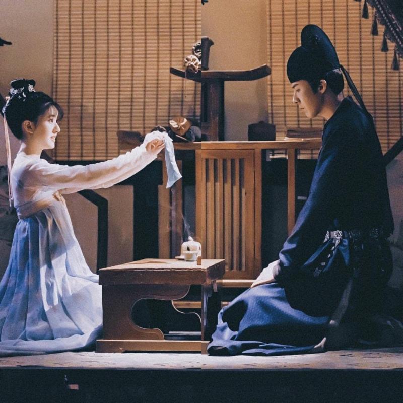 Chemistry tuyệt vời giúp anh và Triệu Lộ Tư nổi tiếng đình đám trong vai trò couple. Lưu Vũ Ninh còn vì thế mà được gọi là 'bạn trai Triệu Lộ Tư'.