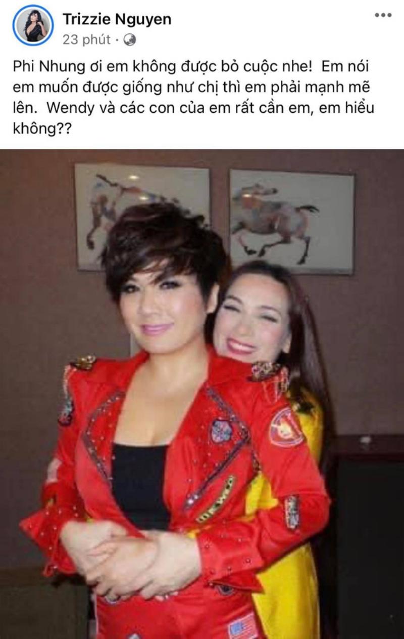 Bạn thân Phi Nhung tiết lộ tình hình của nữ ca sĩ không tốt, sức khỏe đã yếu hơn trong 2 ngày qua 3