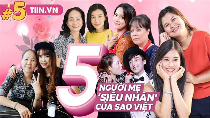 5 người mẹ 'siêu nhân' của sao Việt: Sơn Tùng, Khởi My được bảo bọc, mẹ Hương Giang có 'giác quan thứ 6'