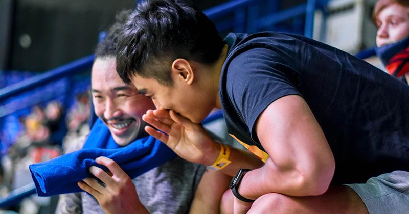 Stefan Nguyễn bất ngờ xuất hiện trên khán đài VBA: 'Nhớ cảm giác ở VBA lắm chứ nhưng mình đang có công việc khác!'