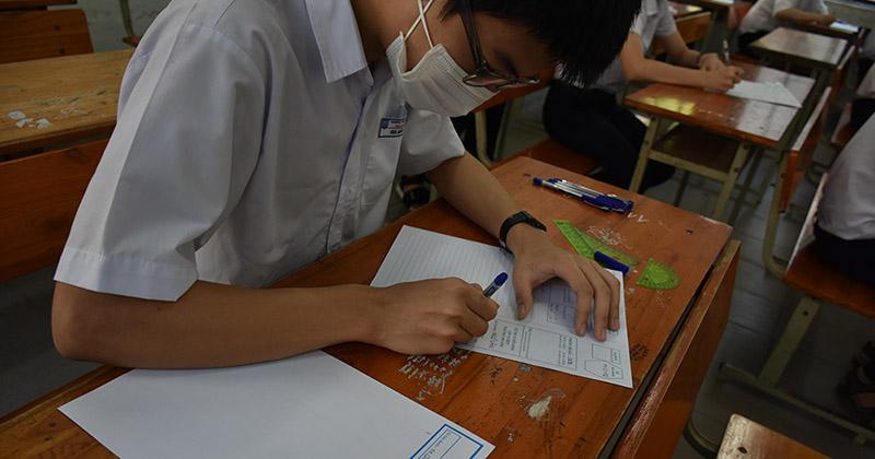 Nhiều thí sinh vắng không có lý do trong buổi thi đầu tuyển sinh lớp 10 ở Đà Nẵng