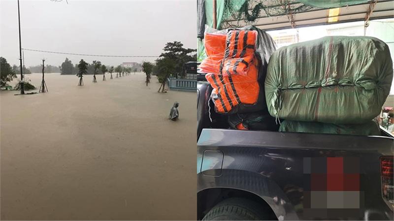 VTV ra thông báo khẩn cấp gửi đến các đoàn cứu trợ sắp đến miền Trung