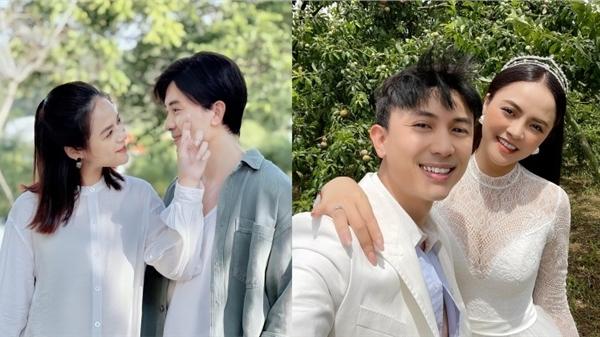 Thu Quỳnh hé lộ tên con của cặp đôi Thy - Huy trong phim 'Hương vị tình thân'