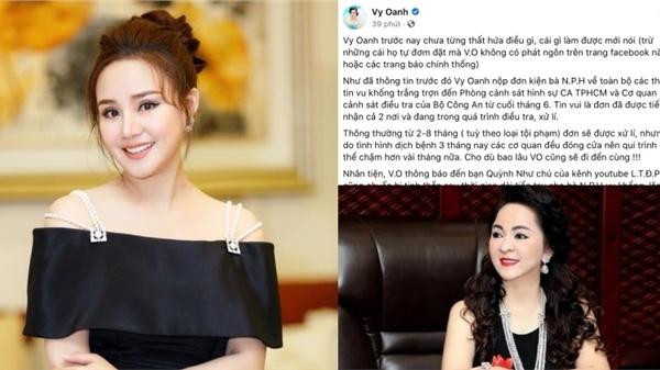 Vy Oanh công khai nội dung tố cáo nữ doanh nhân nổi tiếng