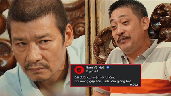 'Hương vị tình thân': 'Ông Sinh' NSƯT Võ Hoài Nam muốn ôm giảng hòa với 'lão Tấn' NSƯT Hồ Phong, đấu đá nhau mệt lắm rồi!