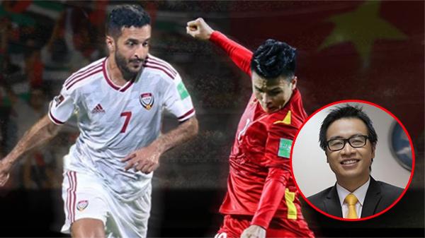 'Vựa muối'Tạ Biên Cương sẽ trở lại bình luậntrong trận chiến tuyển Việt Nam đấu UAE