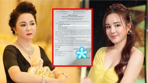 Vy Oanh hé lộ nội dung liên quan đến tin đồn 'đẻ thuê', 'cặp đại gia' trong đơn tố cáo bà Phương Hằng