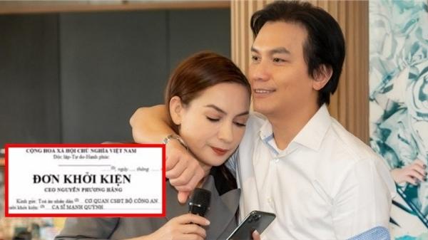 Xôn xao đơn khởi kiện CEO Phương Hằng từ ca sĩ Mạnh Quỳnh?