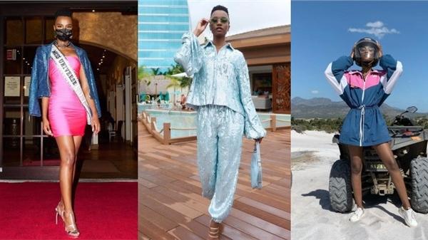 Phong cách thời trang sến súa, sai quá sai của đương kim Hoa hậu Hoàn vũ Zozibini Tunzi