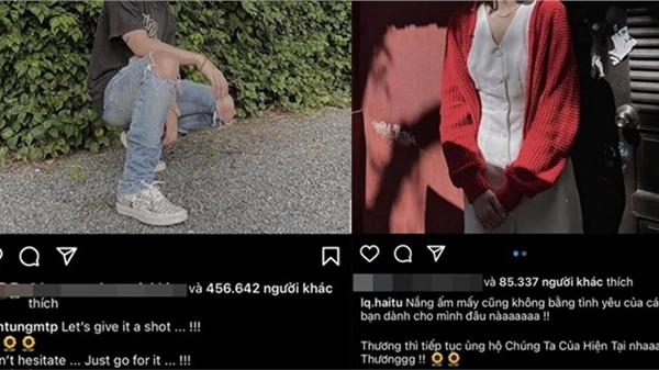 Hóa raSơn Tùng M-TP và HảiTú đã thả thính nhau từ lâu bằng kí hiệu riêng mà bây giờ netizen mới phát hiện