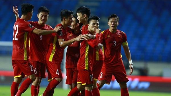 Tuyển Việt Nam là 1 trong 2 đội xếp hạng kém nhất vòng loại cuối World Cup 2022