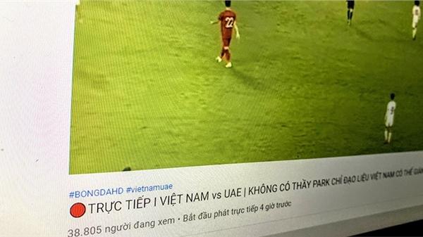 Gần 40.000 người háo hức xem trận Việt Nam - UAE từ 20h30 rồi ngỡ ngàng ngơ ngác bật ngửa vì... ăn cú lừa