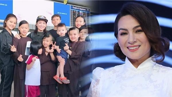 Vợ cũ Bằng Kiều tiết lộ các con Phi Nhung đang cùng cầu nguyện, hứa 1 điều khiến nhiều người xót xa