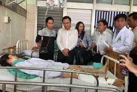 Vụ container gây tai nạn ở Long An: Bắt giam tài xế