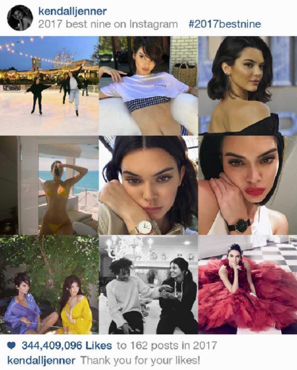 Instagram 2017 và #BestNine: 9 bức hình hot nhất từ Kim Kardashian, Kylie Jenner, Beyoncé, Selena Gomez 1