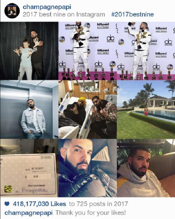 Instagram 2017 và #BestNine: 9 bức hình hot nhất từ Kim Kardashian, Kylie Jenner, Beyoncé, Selena Gomez 6