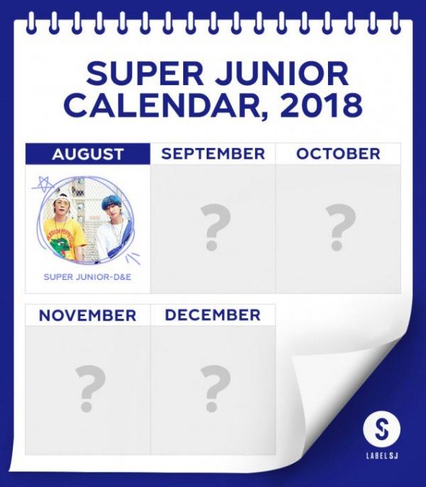 Lịch comeback của Super Junior?