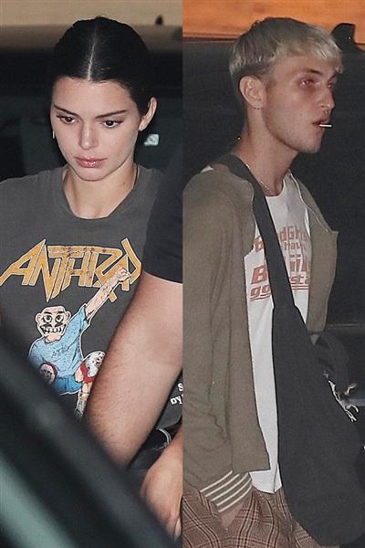 Lần đi chơi của cặp đôi kể từ khi Kendall Jenner chia tay bạn trai cũ.