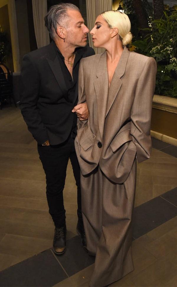 Lady Gaga và Christian Carino tại sự kiện vừa qua.