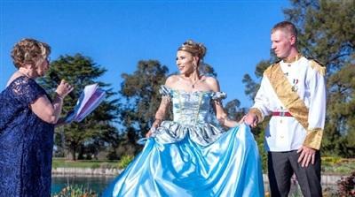 Đám cưới trong mơ của mọi cô gái có mộng công chúa 2