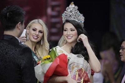 Clip Tân Hoa hậu Trái đất chia sẻ sau đăng quang: Mình đã dám ước mơ và dám thực hiện 5