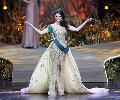 Clip Tân Hoa hậu Trái đất chia sẻ sau đăng quang: Mình đã dám ước mơ và dám thực hiện 2