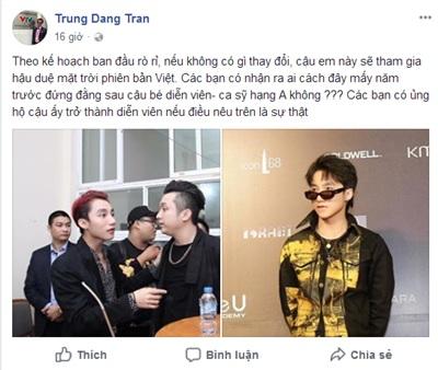 Thông tin 'rò rỉ' Sơn Tùng M-TP sẽ tham gia Hậu duệ mặt trời phiên bản Việt.