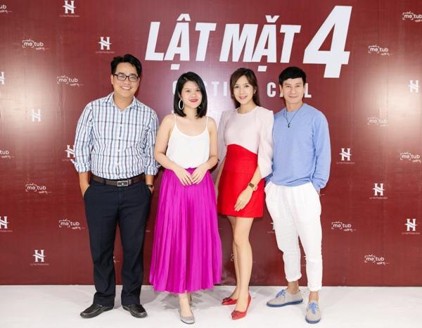 Lý Hải và bà xã tổ chức casting rầm rộ chọn diễn viên chính cho 'Lật mặt 4' 0