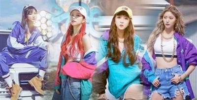 Phong cách thời trang những năm 2000 EXIDlựa chọn trong đợt comeback trước đó nhận được nhiều lời khen từ netizen