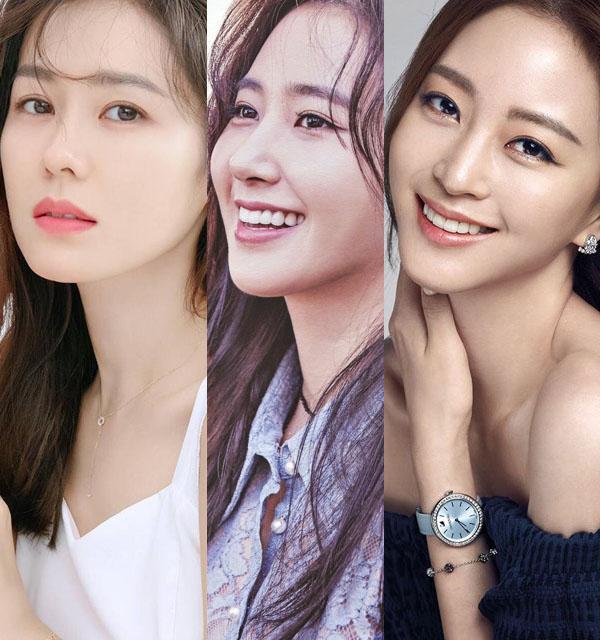 3 nhân vật chính trong tin đồn được cho là Son Ye Jin, Yuri và Han Ye Seul.