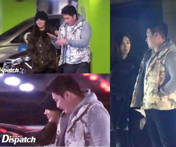 Tuy nhiên Yuri từng bị bắt gặp hẹn hò với cầu thủ bóng chày Oh Seung Hwan.