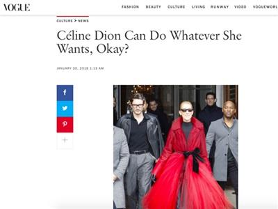Mặc cho dân mạng dè bĩu ngoại hình, hàng loạt báokhẳng định: 'Celine Dion là Nữ hoàng của Paris Fashion Week' 4
