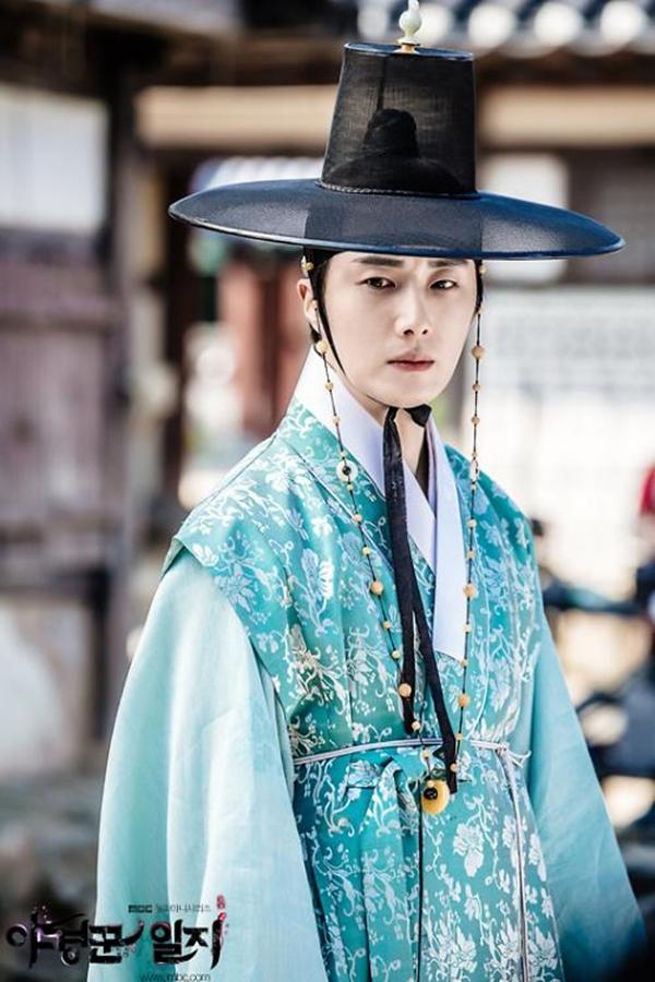 Trong Haechi, Jung Il Woođóng vai thái tử Lee Geum
