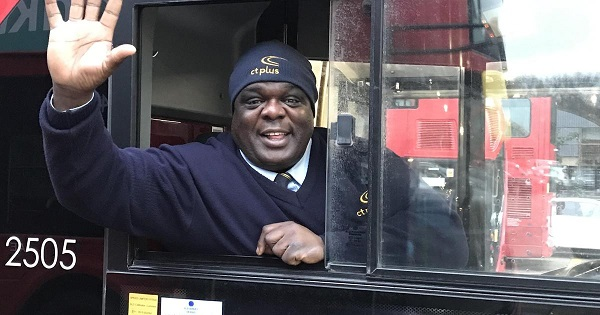 Tài xế là công việc mà Patrick yêu thích nhất