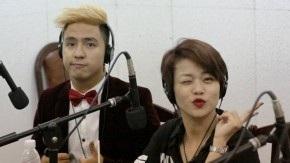 Nhạc sĩ Tăng Nhật Tuệ và ca sĩ Hải Yến