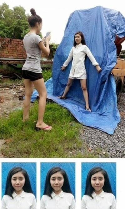 Muôn kiểu chụp ảnh thẻ siêu tiết kiệm, siêu chất lượng mà người trẻ nghĩ ra khi 'cháy túi' 3