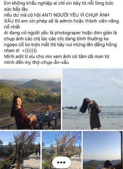 Một cô nàng 'khóc thét' vì nhờ người yêu chụp ảnh hộ