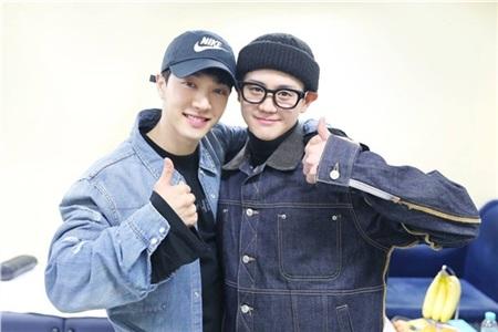Yoseob và Gikwang.