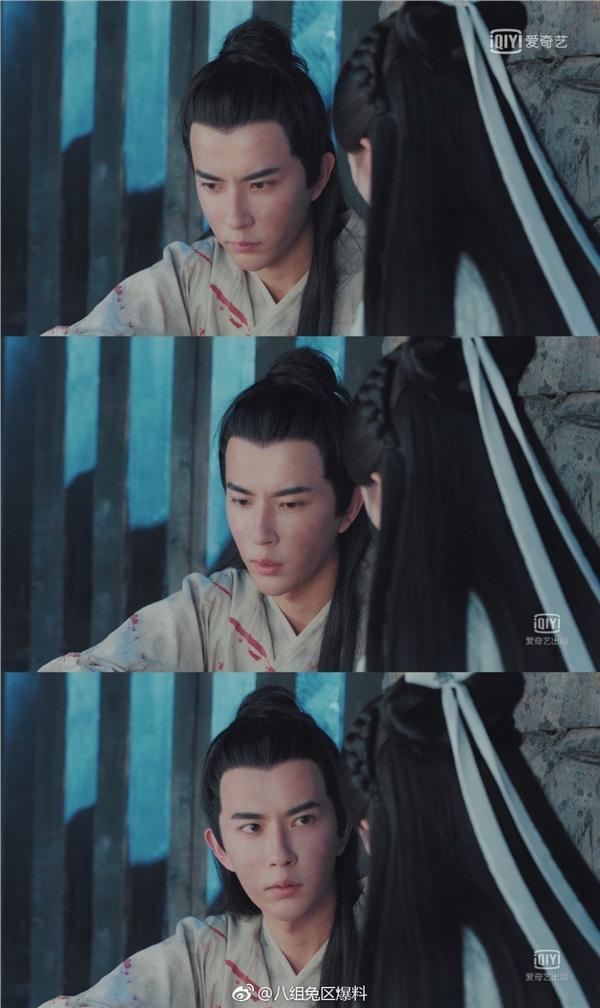 Biểu cảm của Vu Mông Lung trong phim: Không nhíu mày...