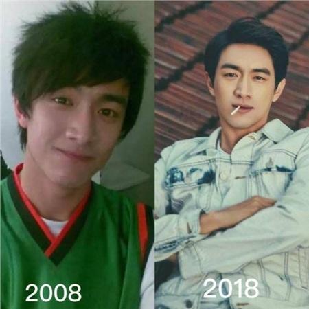 Sau 10 năm, Lâm Canh Tân hầu như không thay đổi chút nào về nhan sắc, chỉ khác ở chỗ phong thái của anh chàng đã từ hơi trẻ con chuyển sang chững chạc, trưởng thành hơn.