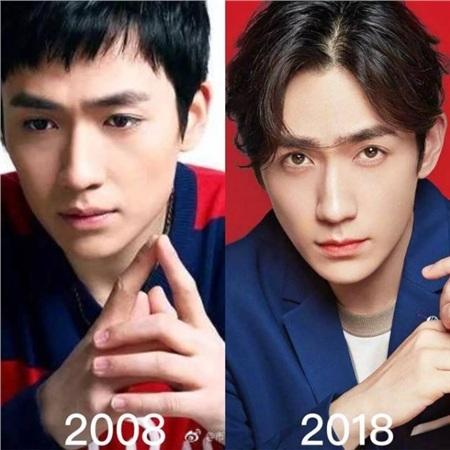 Các fan cho rằng Chu Nhất Long của 10 năm sau lại... trẻ hóa so với 10 năm trước. Gương mặt vẫn không có gì thay đổi nhiều, chỉ có đôi mắt đã sắc bén và tự tin hơn trước.