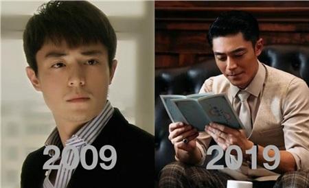 Dường như thời gian đã bỏ quên Hoắc Kiến Hoa, bởi hình ảnh 10 năm trước và 10 năm sau của anh cũng chẳng khác nhau là mấy. Thậm chí, Hoắc Kiến Hoa ở thời điểm hiện tại càng trẻ trung, phong độ hơn 10 năm về trước.